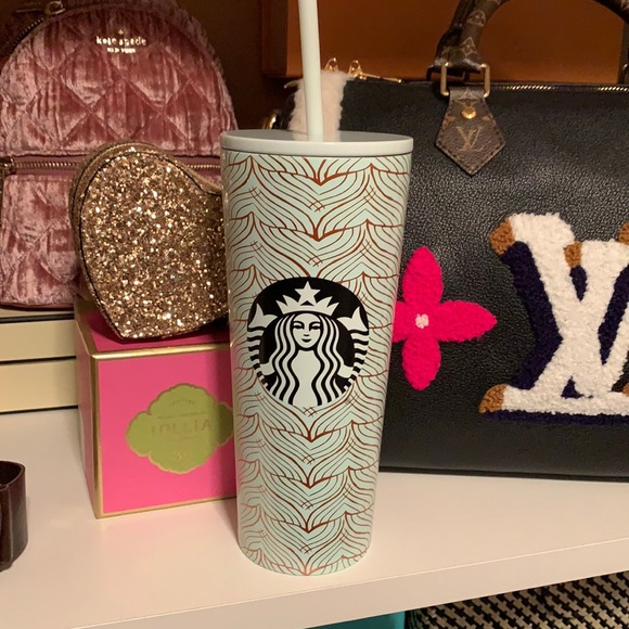 NWT Starbucks Dubai stainless mermaid tumbler